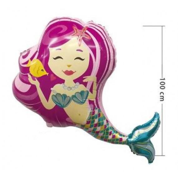 Globo de Sirena de 100 Centímetros