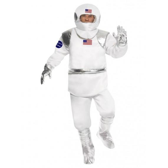 Disfraz de Astronauta Americano para Adulto