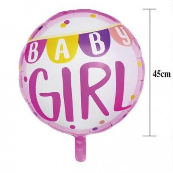 Globo de Baby Girl de 45 Centímetros
