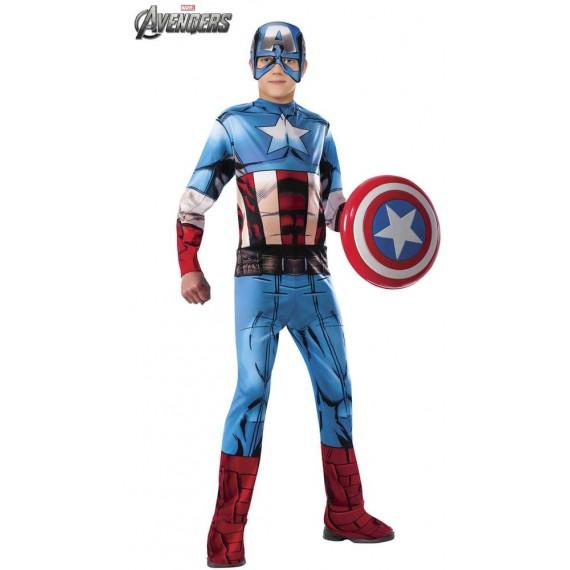 Disfraz de Capitán América Clásico Infantil