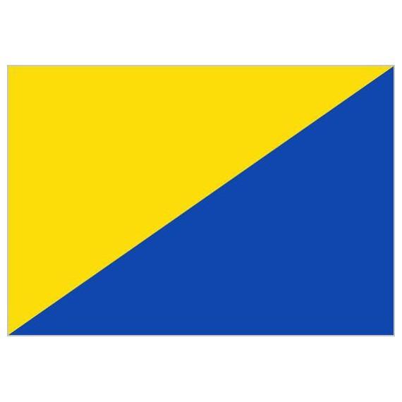 Bandera de Gran Canaria Sin Escudo de Poliéster Microperforada Reforzada