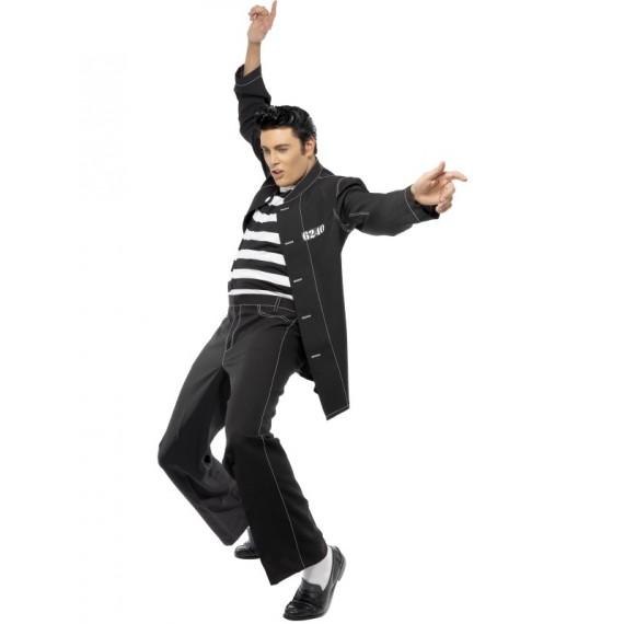 Disfraz de Elvis de Lives Jailhouse para Adulto