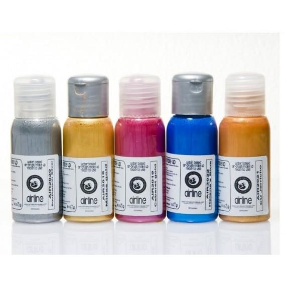 Maquillaje Líquido de 50 Mililitros Color Metálico de Camaleon