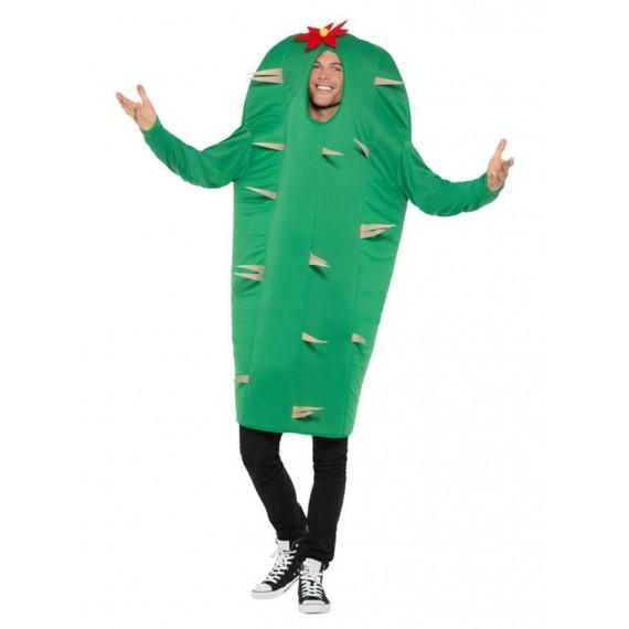 Disfraz de Cactus de color Verde para Adulto
