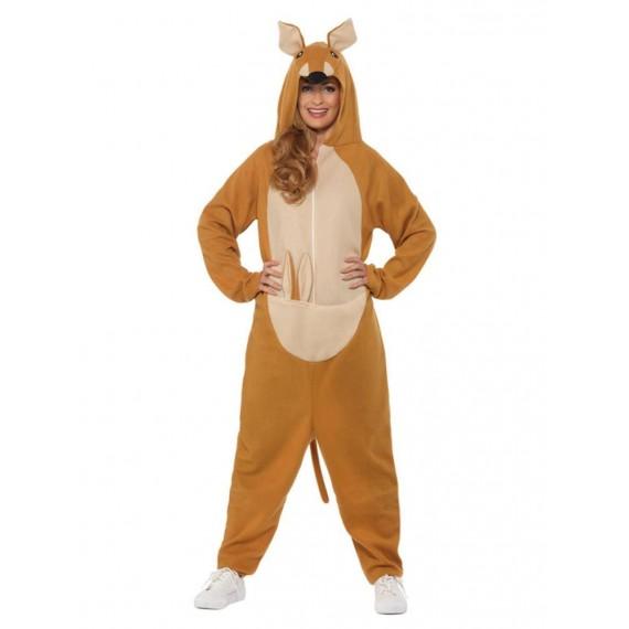 Disfraz de Canguro de color Marrón para Adultos