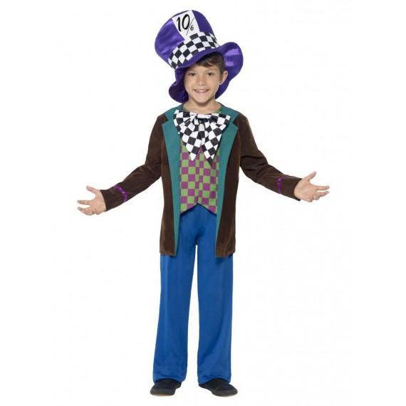 Disfraz de Sombrerero Loco Deluxe Infantil