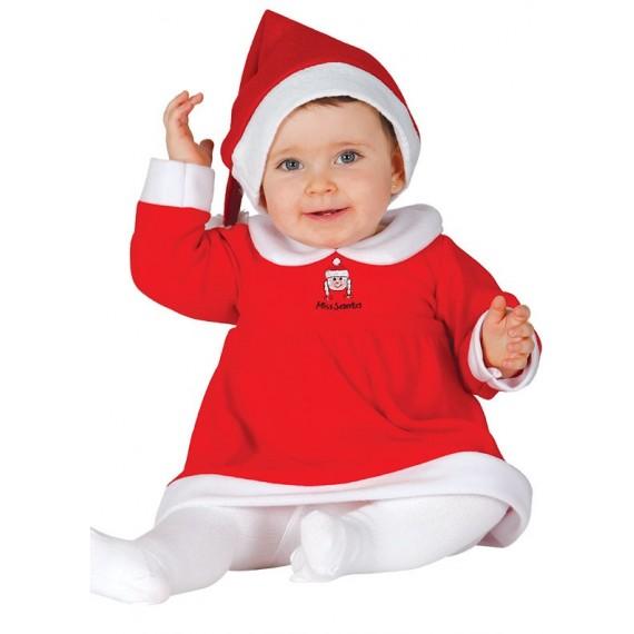 Disfraz de Mamá Noel para Bebé