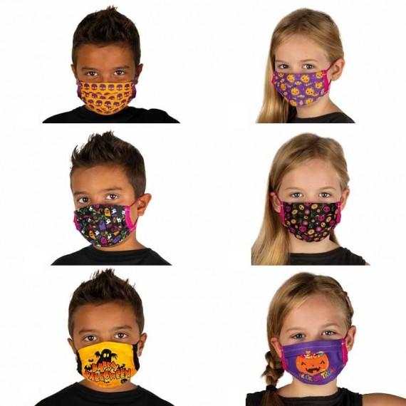 .Mascarilla de Halloween Varios Modelos Infantil