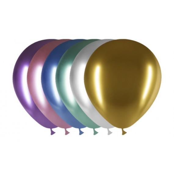 Globo 25 Unidades de 24 Centímetros Color Brillante 100% Biodegradable
