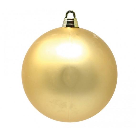 Bola de color Oro Mate de 30 Centímetros