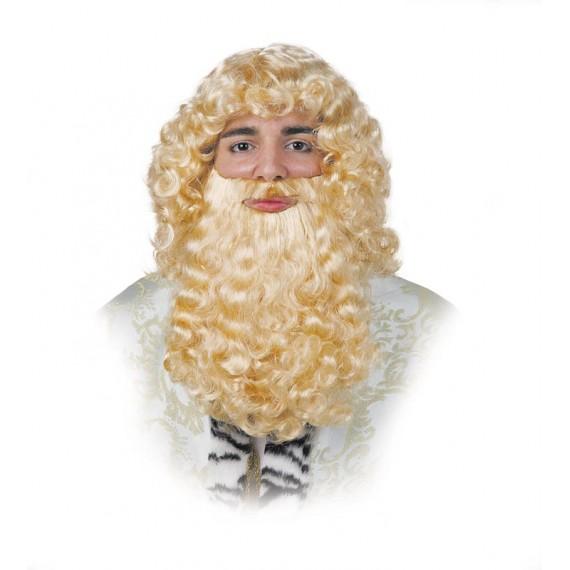 Barba Rubia de Rey para Adulto