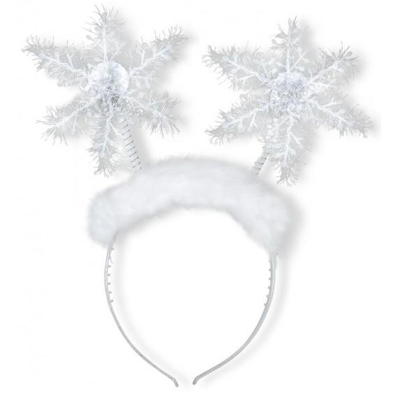 Diadema de Copo de Nieve