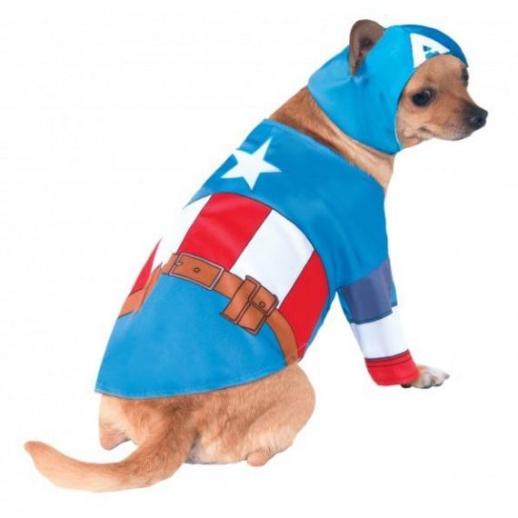 Disfraz de Capitán América para Mascota