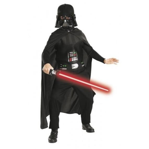 Disfraz de Darth Vader con Espada de Star Wars Infantil