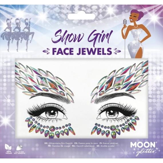 Gema Facial de Show Girl Moon Glitter