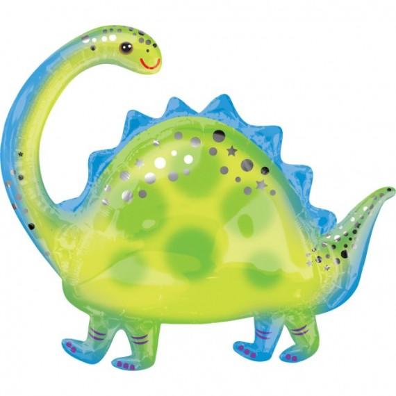 'Globo de Dinosaurio Brontosaurio de 81 Centímetros