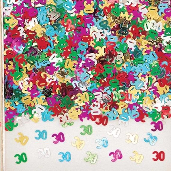 Confeti de Número 30