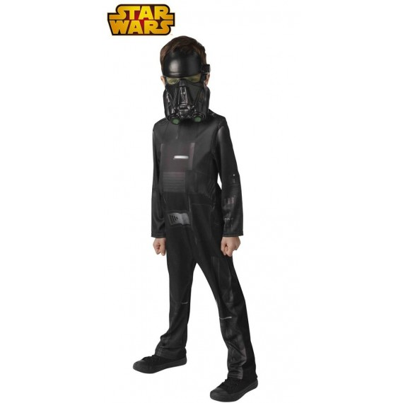 Disfraz de Death Trooper Clásico de Star Wars Infantil