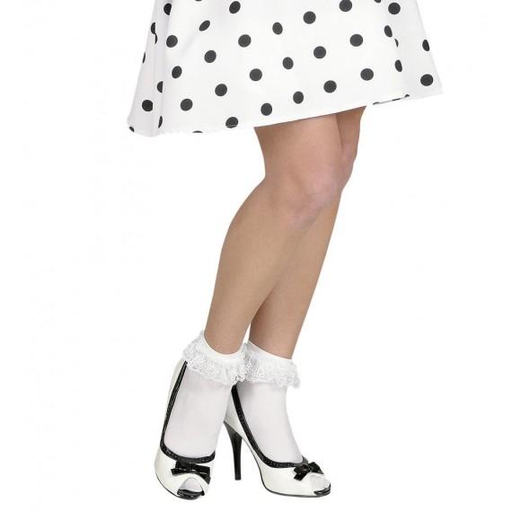 Calcetines de color Blanco de 70 DEN para Adulto