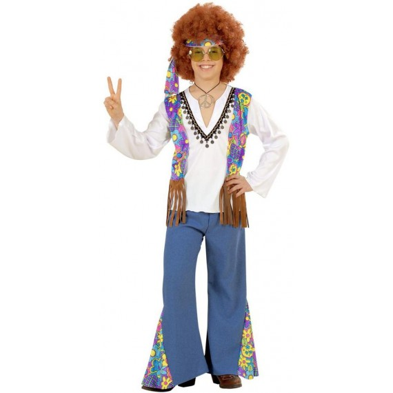 Disfraz de Hippie Woodstock Infantil