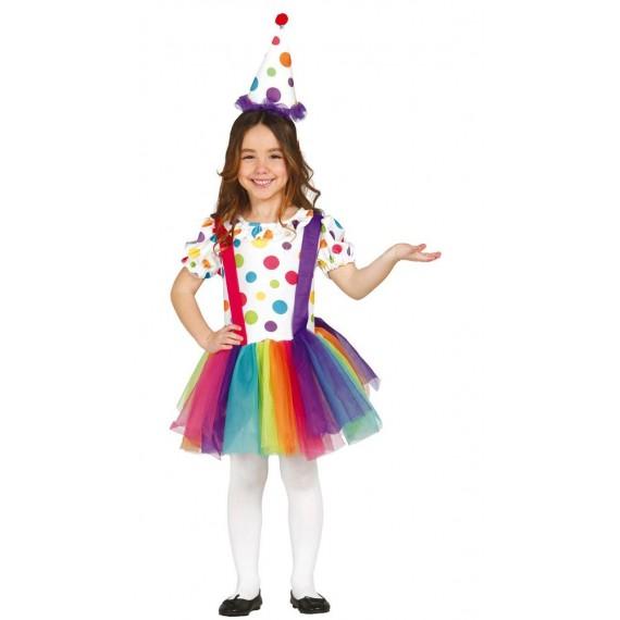 Disfraz de Payasita Infantil