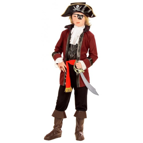 Disfraz de Pirata de la Isla del Tesoro Infantil