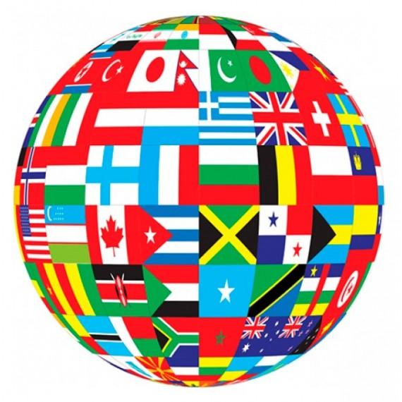 Bandera de 90 x 150 Centímetros de Raso Brillante para Interior Varios Modelos