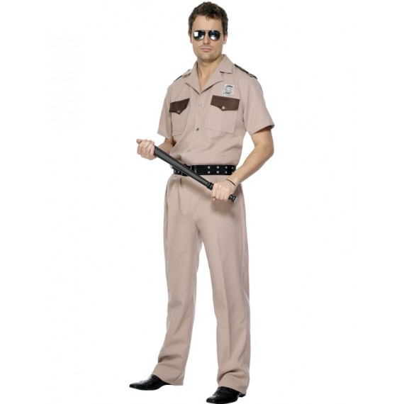 Disfraz de Policía de Patrulla de Carretera para Adulto