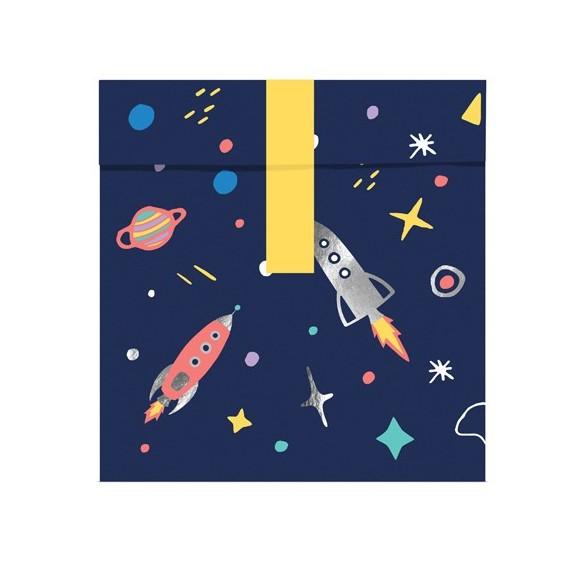 Bolsa de Espacio 6 Unidades de 13 x 14 Centímetros