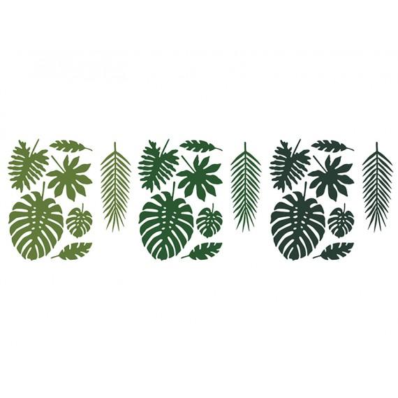 .Hoja Tropical de Aloha 21 Unidades
