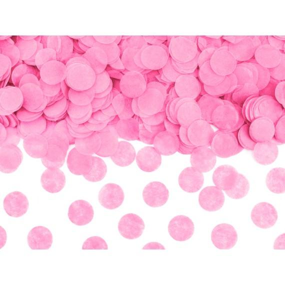 .Cañón de Confeti de 60 Centímetros de color Rosa