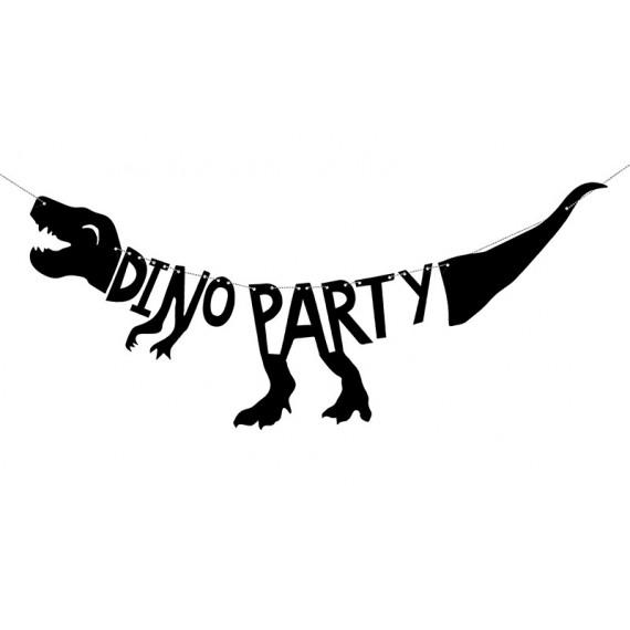 'Guirnalda de Dino Party de 20 x 90 Centímetros