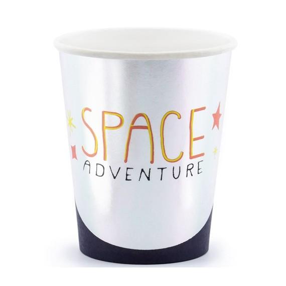 'Vaso de Space Adventure 6 Unidades de 200 Mililitros