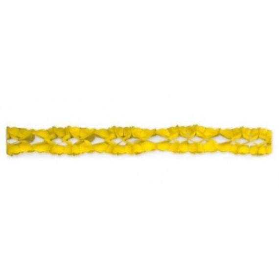 .Guirnalda de color Amarillo de 4 Metros