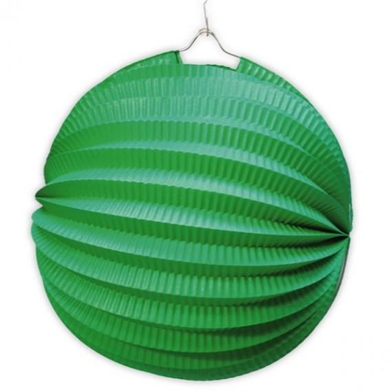 .Farol de 20 Centímetros de color Verde