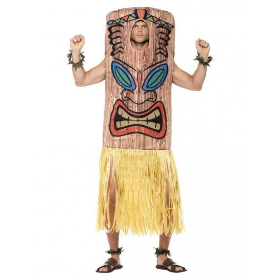 Disfraz de Tótem Tiki para Adulto