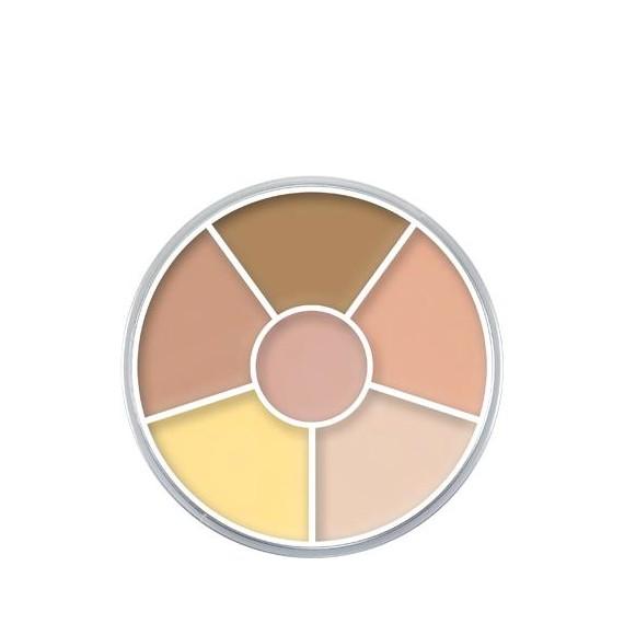 Paleta de Maquillaje en Crema Cream Color Circle SPN1 de 30 Gramos de Kryolan