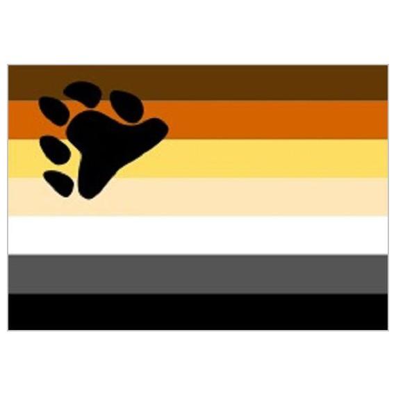Bandera de Hermandad Oso de 90 x 150 Centímetros de Poliéster para Interior