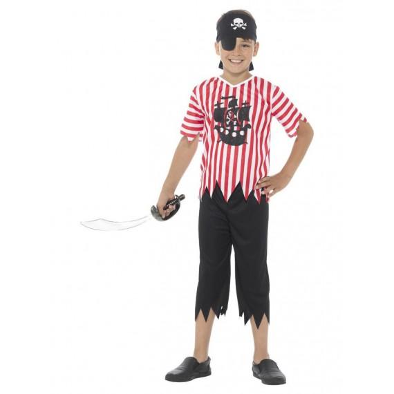 Disfraz de Pirata Gracioso Infantil