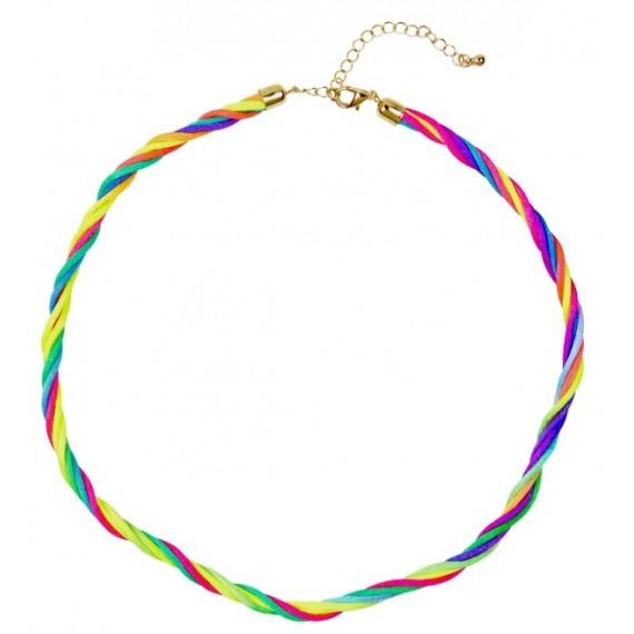 Collar de 5 Líneas Neón Multicolor