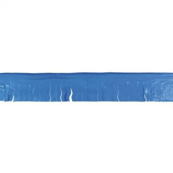 .Guirnalda de Fleco Plástico de 25 Metros de color Azul