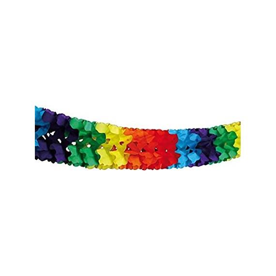 .Guirnalda de Papel de 3,2 Metros Multicolor