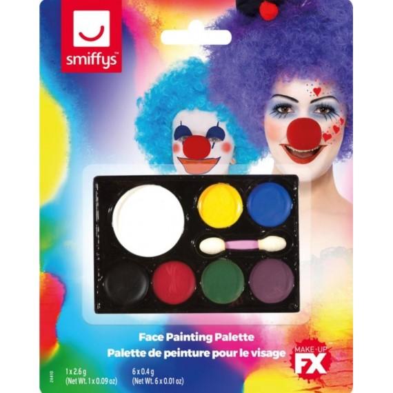 Paleta de Maquillaje FX 7 Colores para la Cara