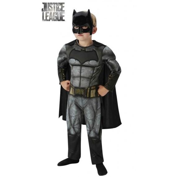 Disfraz de Batman Deluxe de La Liga de la Justicia Infantil