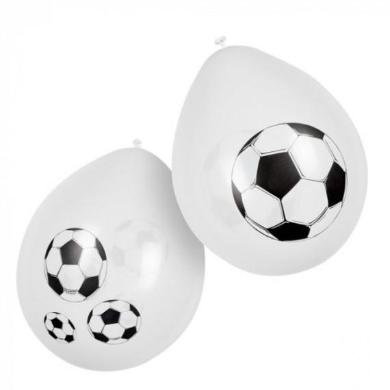'Globo de Balón de Fútbol 6 Unidades de 25 Centímetros