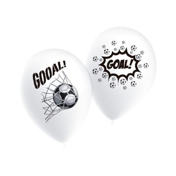'Globo de Balón de Fútbol 10 Unidades de 25 Centímetros