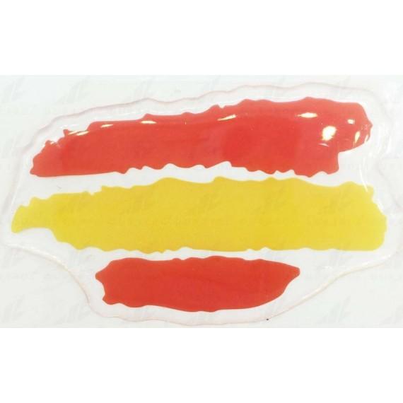 Pegatina de España sin Escudo Trazos de 70 x 42 Centímetros