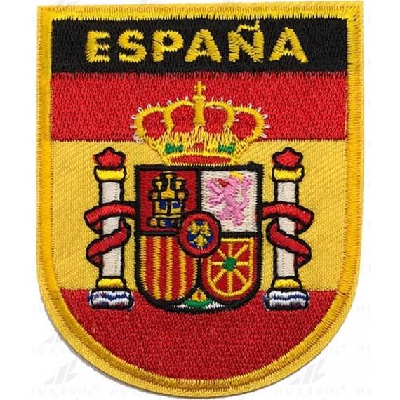 Parche de Escudo España de 7,50 x 6,50 Centímetros