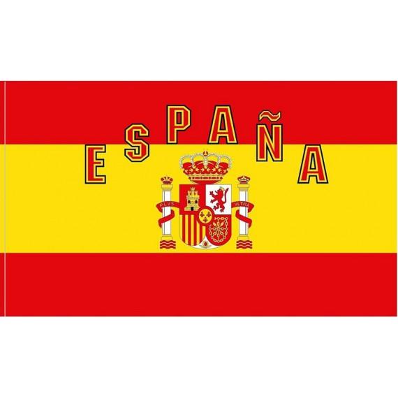 'Bandera de España de 90 x 150 Centímetros de Poliéster para Interior