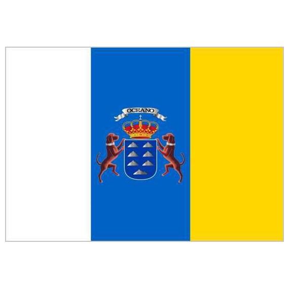 Bandera de 60 x 90 Centímetros de Poliéster para Interior Varios Emblemas